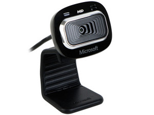 WebCam Microsoft LifeCam HD-3000, Video HD 720p widescreen (16:9), Micrófono integrado, USB. (OEM)