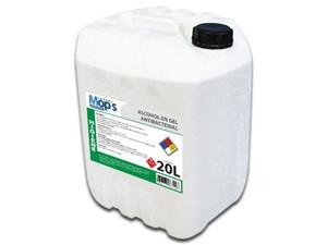 Gel Antibacterial Super Mops MOPS831 de 20L, 70% de Alcohol.