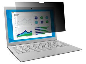 """Filtro de privacidad 3M, para laptop de hasta 13.3\""""."""