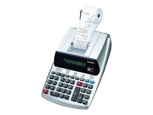 Calculadora con impresora Canon MP11DX-2, 12 digitos, 4.3 líneas por segundo.
