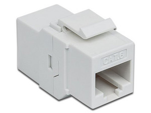 Couple Intellinet 505147 RJ-45 (Hembra) a RJ-45 (Hembra), Cat6. Color Blanco