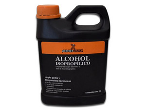 Alcohol Isopropílico Perfect Choice PC-034094 para limpieza electrónica de 1L.