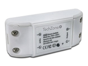 Switch De Corriente Wi-Fi TechZone. Color Blanco.