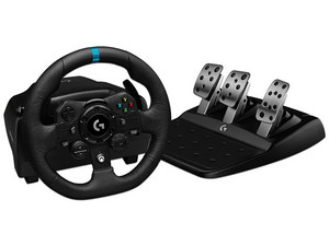 Volante Logitech G923 Driving Force compatible con PC (USB) y Xbox One.