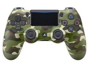 Control Inalámbrico Dualshock 4 (PS4), Camuflage Verde