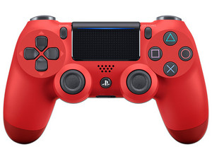 Control Inalámbrico Dualshock 4 (PS4), color Rojo.