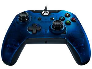 Control alámbrico para Xbox One o PC con Windows. Color Azul.