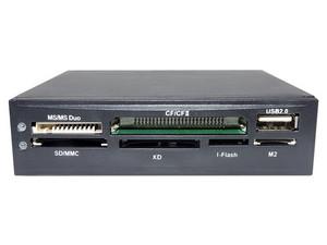 Lector de tarjetas Naceb RM Car01, SD/MMC, MS/MS Duo, I-Flash, M2, XD, USB 2.0.