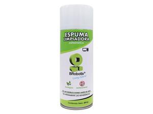 Espuma limpiadora antiestática Brobotix para equipos electrónicos, 454g.