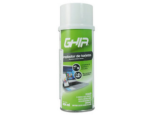 Limpiador de tarjetas GHIA GLS-006, 454ml.