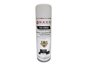 Espuma desinfectante y Sanitizante NACEB NA-0802, Multiusos, 660ml.