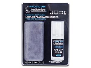 Limpiador de pantallas PROLICOM, LED, LCD, TFT, Plasma y Monitores.