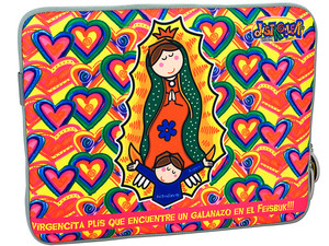 Funda TechZone Virgencita para Netbook de hasta 12