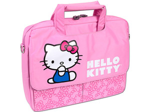 Maletín TechZone Hello Kitty para Laptop de hasta 15.4