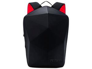 "Mochila Gaming Yeyian Shell para Laptop de hasta 15.6\"". Color Negro/Rojo."