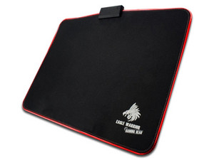 Mouse Pad Gaming Eagle Warrior Scorpion LED , USB. Color Negro.