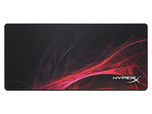 Mouse Pad HyperX FURY S Pro Gaming Speed Edition, extra grande. Color Negro.