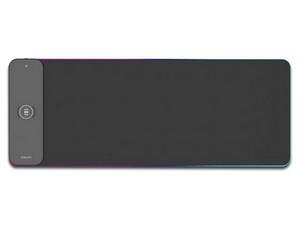 Mouse Pad con Cargador inalámbrico Philips, Iluminación LED, USB.