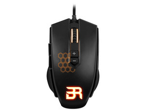 Mouse Gamer Balam Rush BR-912877, USB. Color Negro.