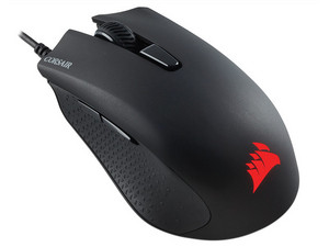 Mouse Gamer Corsair Harpoon RGB Pro, 12,000dpi, 6 Botones programables, iluminación LED RGB, USB.