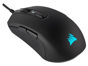 Mouse Gamer Corsair M55 RGB Pro Ambidiestro, 12,400 dpi, iluminación RGB, USB.