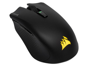 Mouse Gamer Corsair Harpoon RGB Wireless 10,000DPI, Bluetooth, USB. Color Negro.