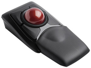 Mouse Óptico Inalámbrico Kensington Trackball Expert K72359WW, Bluetooth, USB, Color Negro.