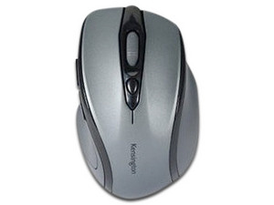 Mouse óptico inalámbrico Kensington Pro Fit. Color Gris.