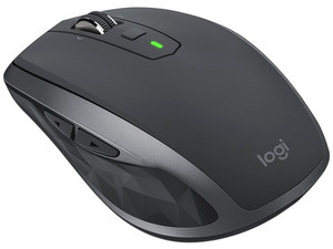 Mouse Inalámbrico Logitech MX Anywhere 2S, Bluetooth. Color Negro.