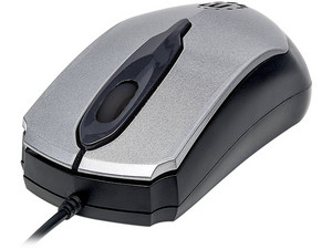 Mouse óptico Manhattan Edge 179423, USB. Color Gris