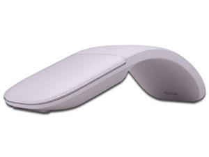 Mouse inalámbrico Microsoft Mavis Arc, Bluetooth. Color Morado.