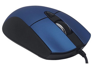 Mouse óptico NACEB NA-0115, USB. Color Azul.
