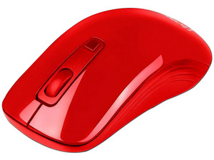 Mouse Óptico Vorago 102, USB. Color Rojo.
