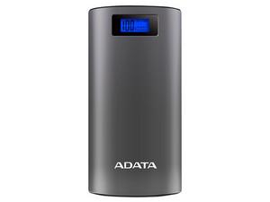 Batería Portátil recargable y linterna LED ADATA AP20000D Power Bank de 20,000 mAh para Smartphones y Tablets.