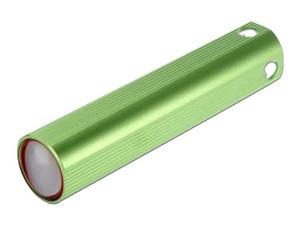 Batería Portátil recargable y linterna LED Brobotix, Powerbank de 1500 mAh. Color Verde.
