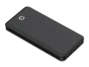 Batería Portátil Recargable GETTTECH GCS-16504 Space de 10,000 mAh, Color Negro.