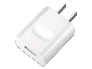 Cargador Huawei AP32 Quick Charge, 9V 2A, con cable USB Tipo-C de 1m. Color Blanco.