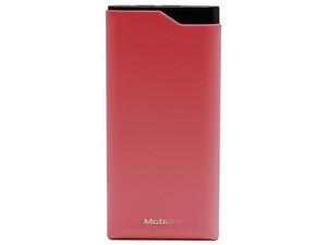 Batería Portátil recargable Mobifree MB-923521, Powerbank de 10,000 mAh. Color Rojo.