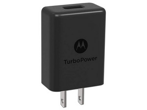 Cargador universal Motorola TurboPower 15, sin cable, Color Negro. OEM