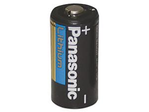 Batería Panasonic tipo D, 3V, 1500 mAh.