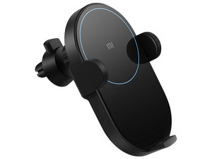 Cargador inalámbrico para Coche Xiaomi Mi 20W, Carga rápida, 20W, 5VCC. Color Negro.