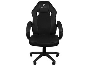 Silla Gamer Balam Rush Power, soporta hasta 100Kg. Color Negro.