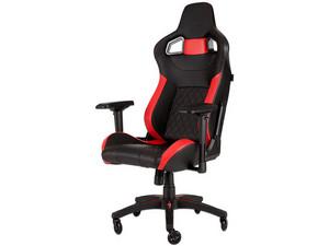Silla Gamer Corsair T1 RACE. Color negro/rojo.