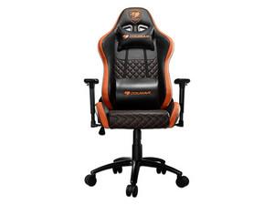 Silla Gaming Cougar ARMOR PRO 3MARMPRO.0001. Color Negro/Naranja.