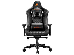 Silla Gamer Cougar Armor Titan, Color Negro.