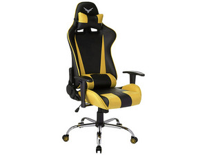 Silla Gaming Naceb Sniper. Color Negro/Amarillo.