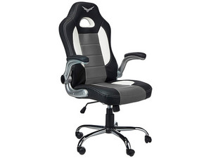 Silla Gaming Naceb Pilot. Color Negro/Gris.