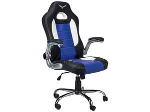 Silla Gaming Naceb Pilot. Color Negro/Azul