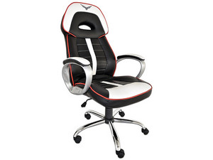 Silla Gaming Naceb WarHammer. Color Negro/Blanco.
