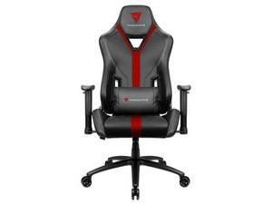 Silla gamer ThunderX3 YC3, tecnología AIR, Color Negro/Rojo.